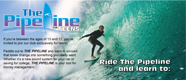If you're between the ages of 13 and 17, you're invited to join us in The Pipeline, exclusively for teens!